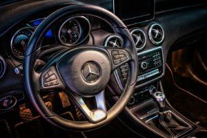 Tableau de bord Mercedes